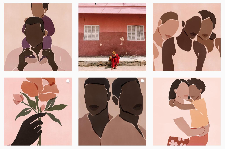 Gli account Instagram che stanno costruendo l'estetica del movimento Black Lives Matter