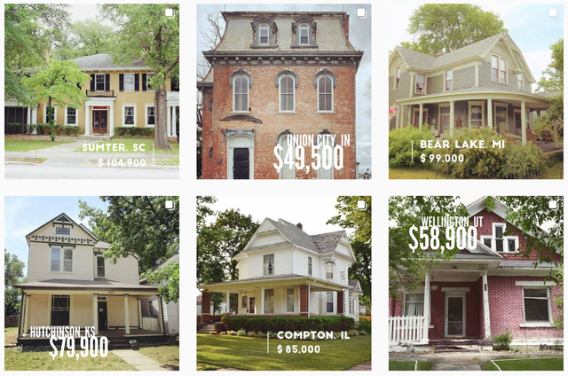 Cheap Old Houses