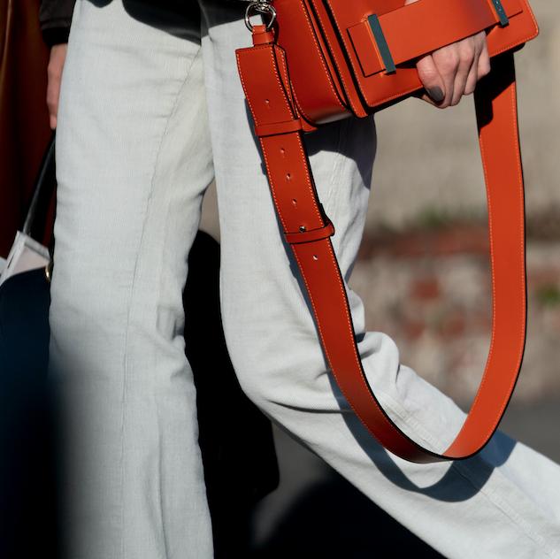 Bag, Orange, Pocket, Carmine, Strap, Coquelicot, Belt, Workwear,