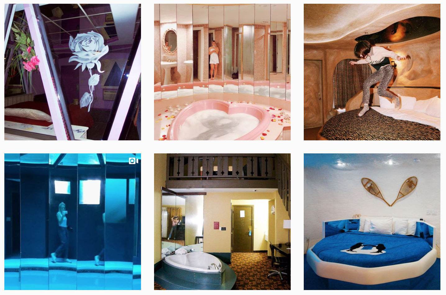 L'account Intagram per viaggiare (dal divano) negli hotel più kitsch d'America