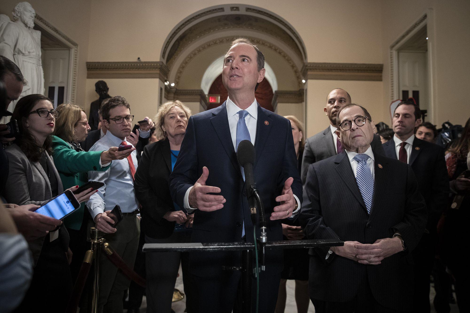 Adam Schiff Just Upped the Historical Ante at the Senate Impeachment Trial