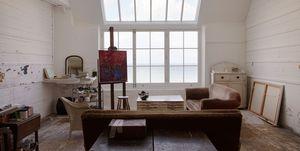 Studio schilder, schilder, kunst, schilderen, atelier