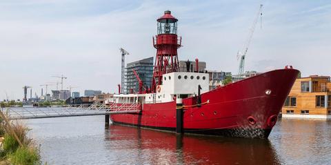 Lichtschip Amsterdam te koop