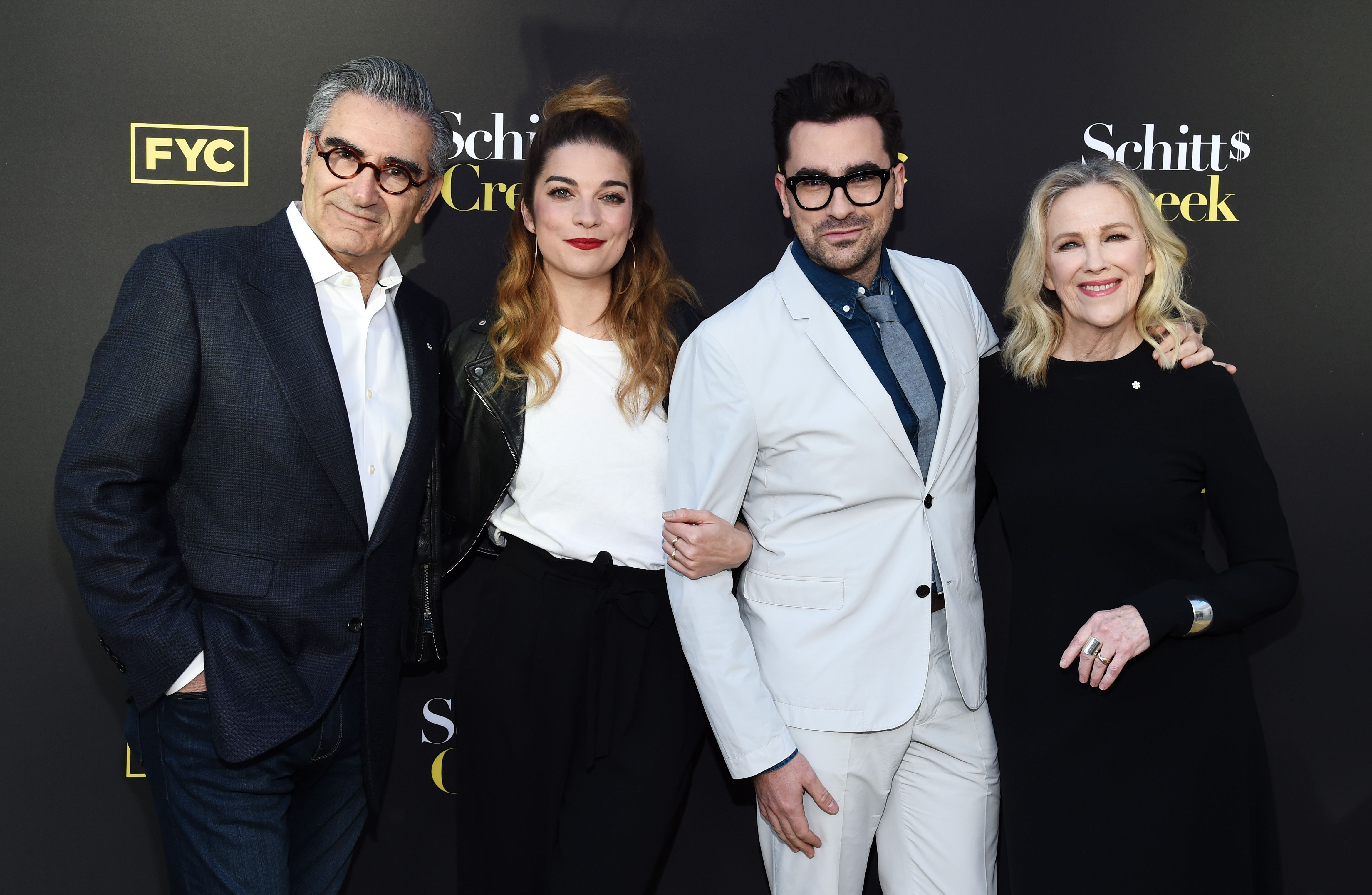"""Dan Levy says he """"would love to explore"""" a Schitt's Creek movie"""