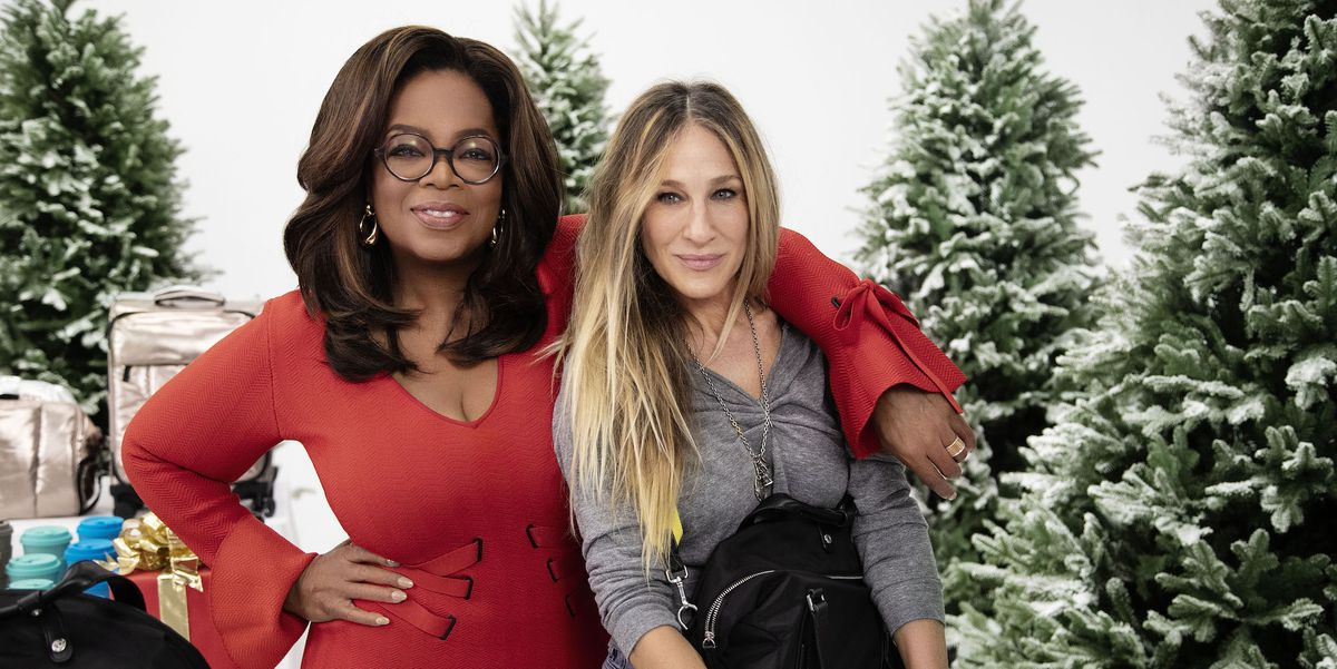 Sarah Jessica Parker Shows Oprah How to Use Her New Backpack—One of Her New Favorite Things - Oprah Mag