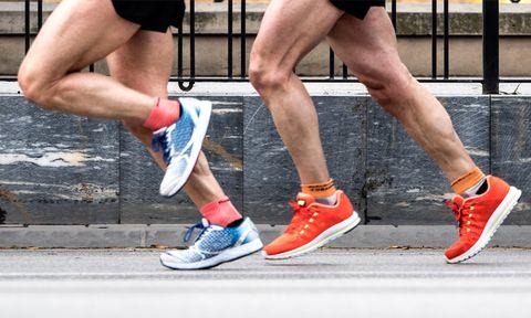 slijtage, schoenen, hardloopschoenen, rubber, tips, kapot, duurzaam, kwaliteit