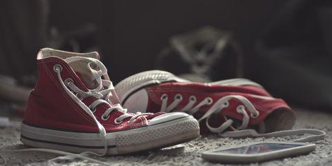 sneakers en schoenen iedere dag een ander paar dragen