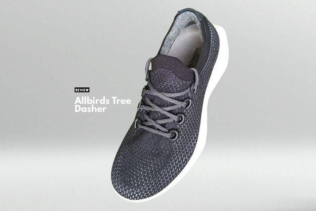 de allbirds tree dasher is een schoen met een kleine ecologische voetafdruk