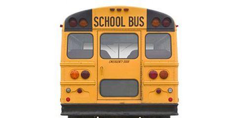 School Bus Rear View