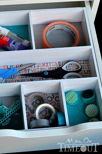 school organization ideas drawer organizer