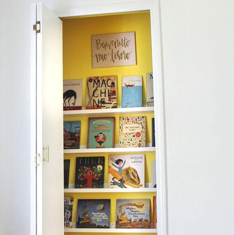 school organization book nook