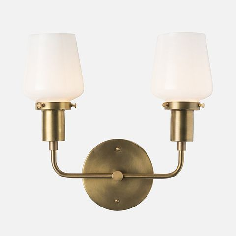 Schoolhouse Electric Abrams Double Sconce