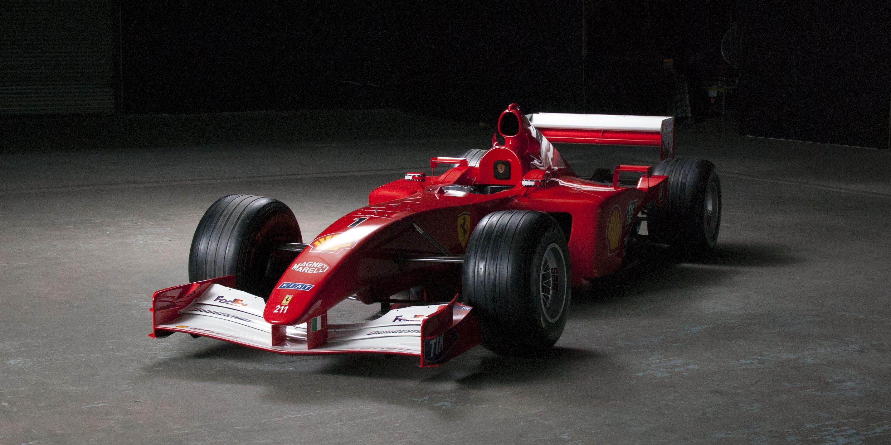 Michael Schumacher\'s F1 Car For Sale - Ferrari 2001 Championship ...