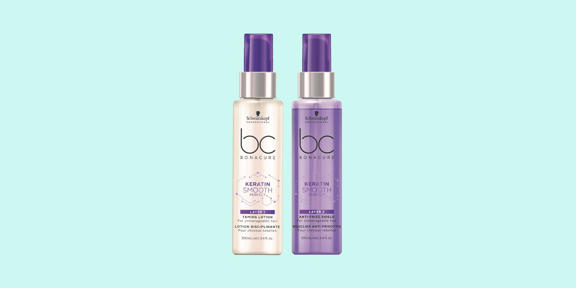 Schwarzkopf BC Keratin Smooth Perfect Duo Layering