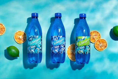 「schweppes舒味思」氣泡水攜手日本藝術家「fantasista utamaro」限定推出「狠氣泡藝術瓶」