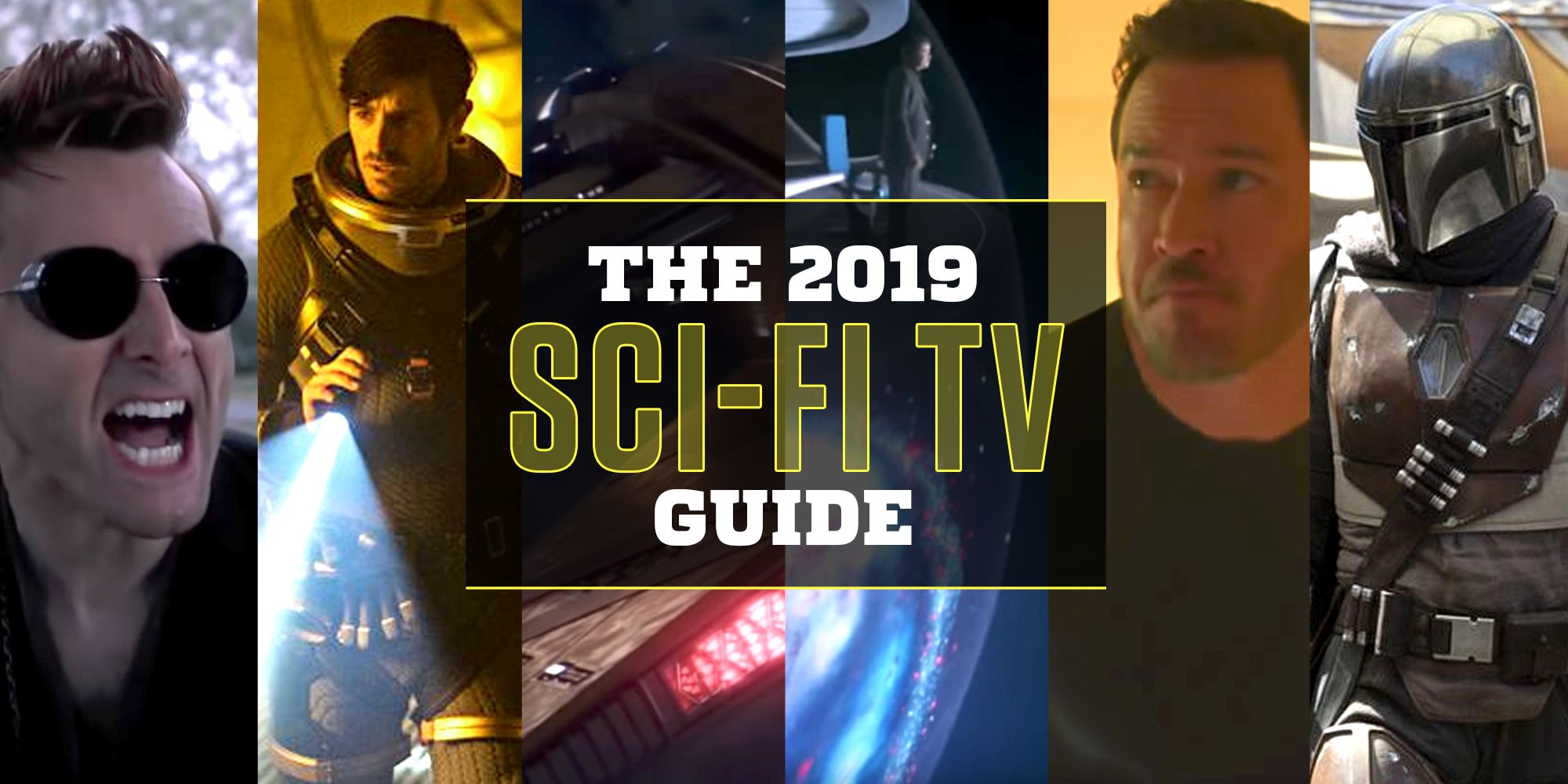 The 2019 Sci-Fi TV Guide