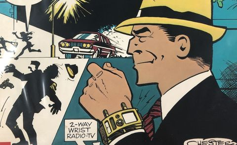 dick tracy comic watch