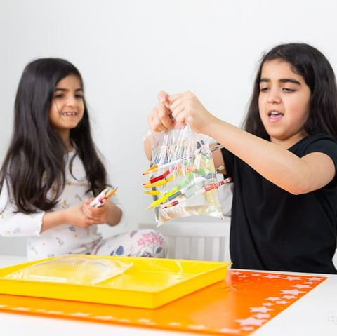 science experiments for kids   water in a bag