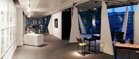 Interior design, Building, Ceiling, Architecture, Room, Floor, Design, Lobby, Furniture, Flooring,