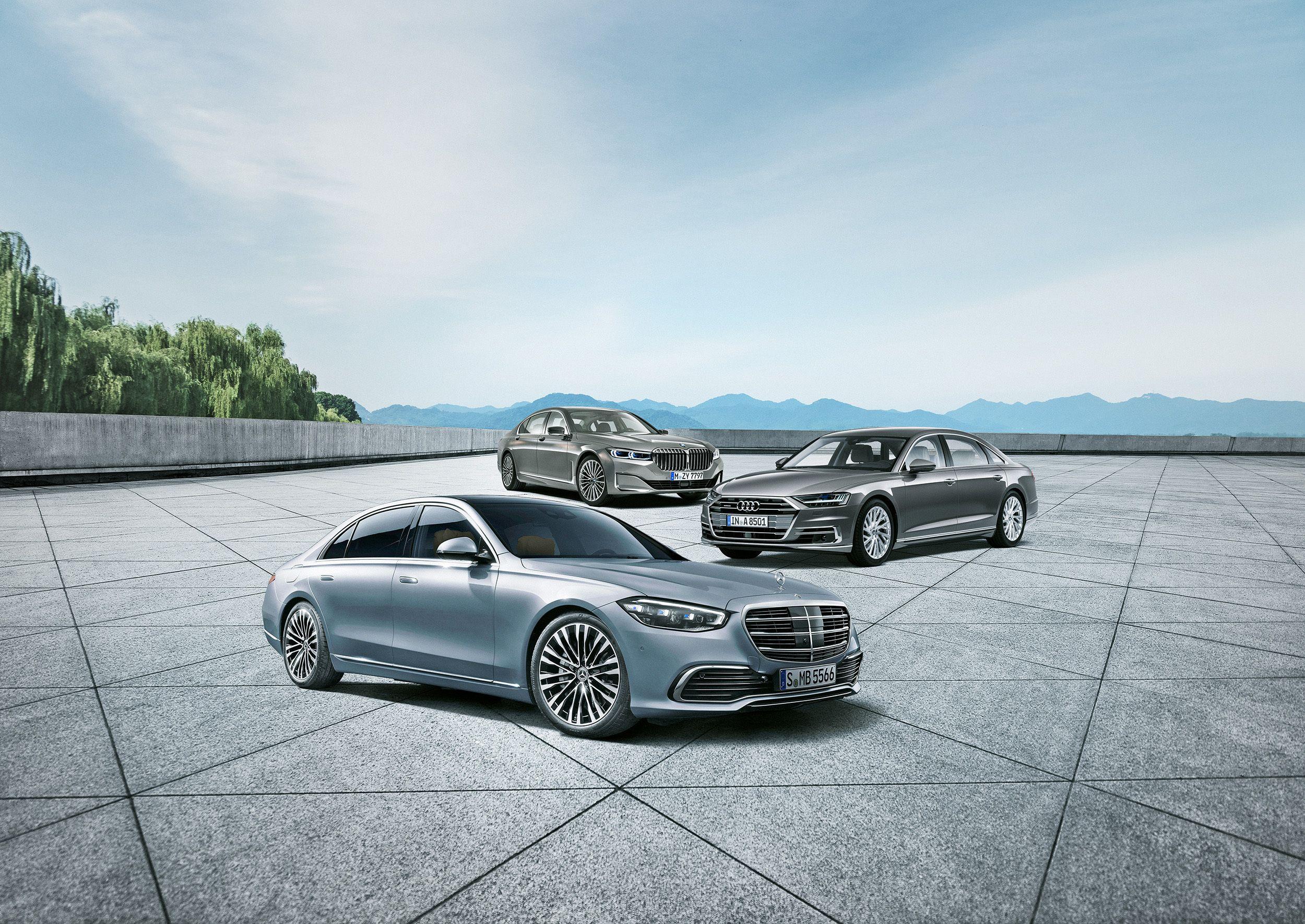 2021 Mercedes Benz S Class Vs Bmw And Audi S Flagship Sedans