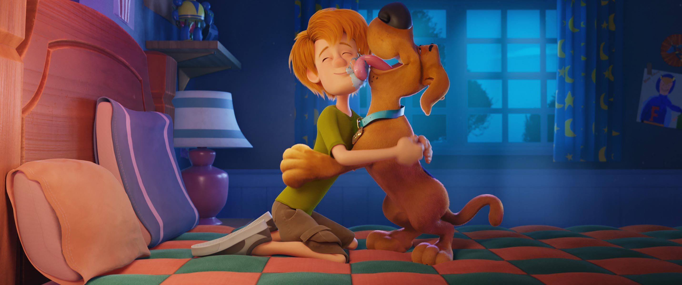 Scoob Movie Trailer Scooby Doo Is Back In New Movie