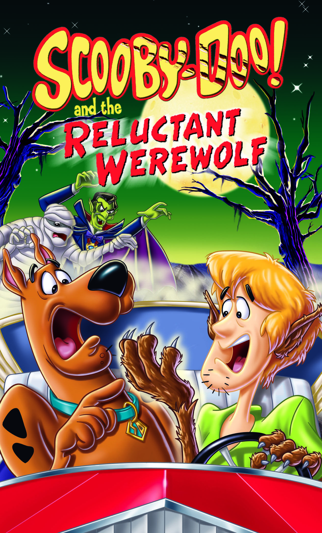 best werewolf movies - scooby doo and the reluctant werewolf