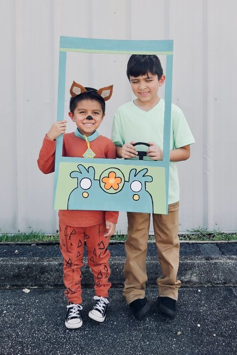 diy scooby doo kids costumes