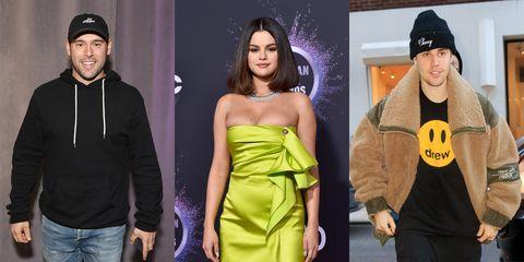 Clothing, Purple, Fashion, Yellow, Dress, Street fashion, Shoulder, Fashion model, Headgear, Beanie,