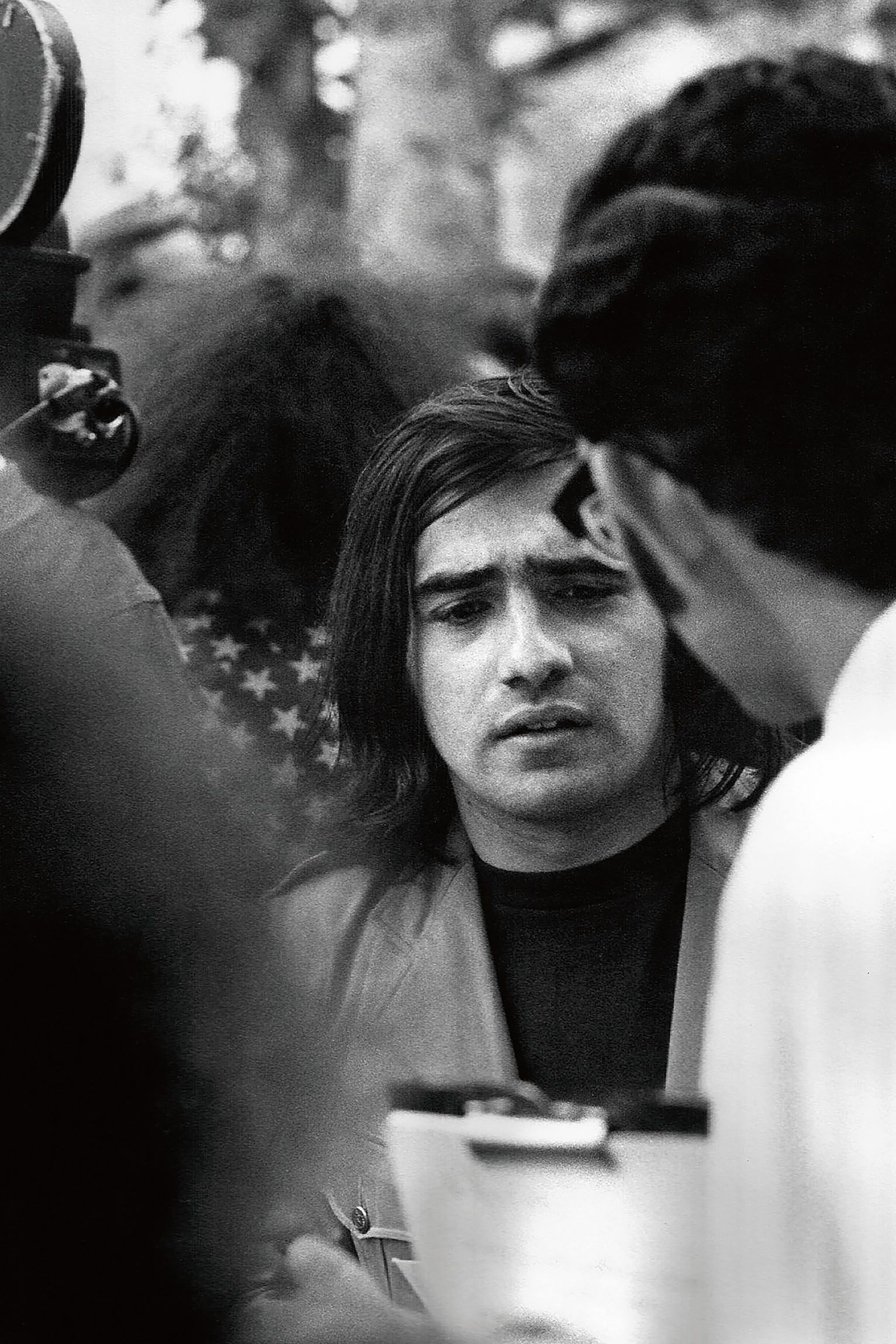 Martin Scorsese at the New York Film Festival in 1970.