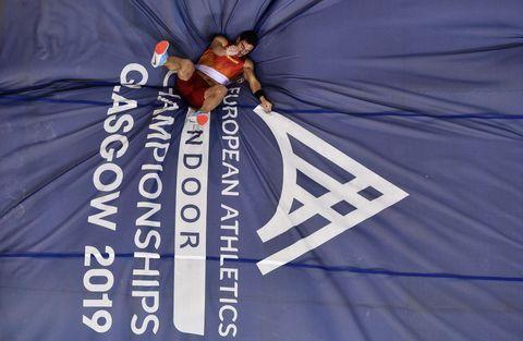 Jorge Ureña, un campeón de Europa aún sin mínima para el Mundial