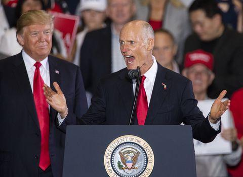 President Trump Taps Rick Scott to Lead Republican Healthcare Plan Push -  Foxes Running the Henhouse