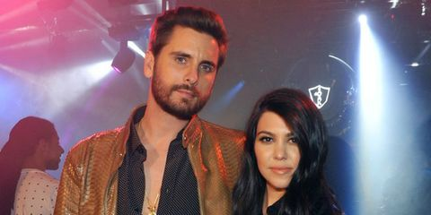 Scott Disick en Kourtney Kardashian