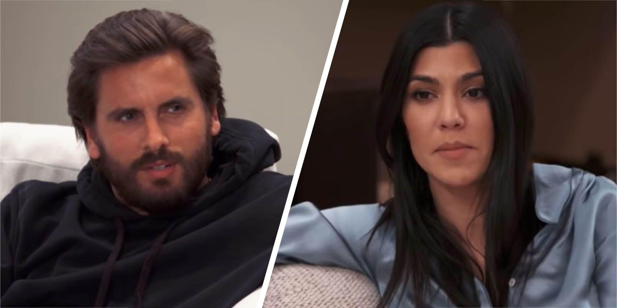 Watch Scott Disick and Kourtney Kardashian's tense showdown about Sofia Richie