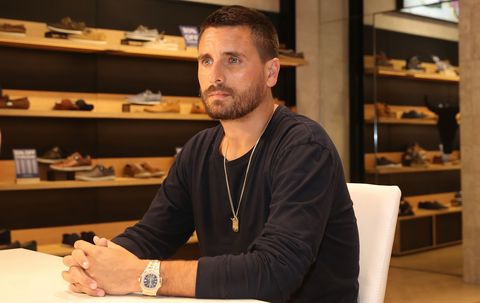 Scott Disick Windsor Smith Store Appearance