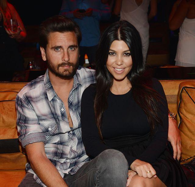 scott disick y kourtney kardashian, en una foto de archivo
