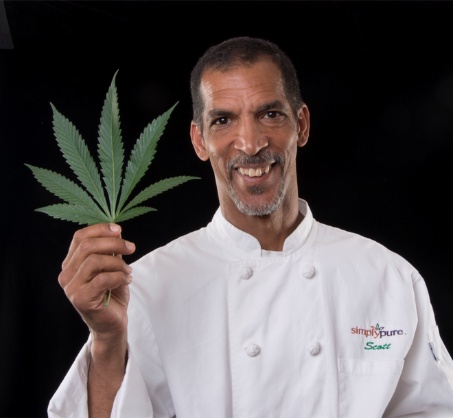 Scott Durrah co-owns Simply Pure in Denver, the first black-owned dispensary in the country. Courtesy of Simply Pure