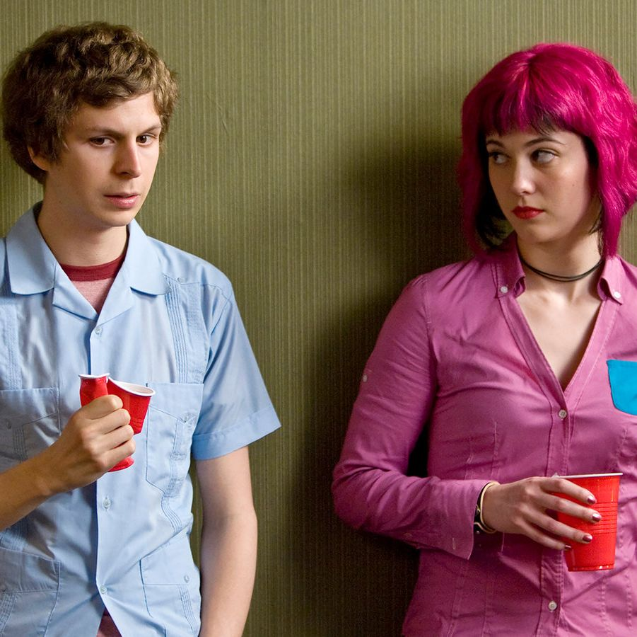 Scott Pilgrim vs. the World This irreverent and energetic movie stars Michael Cera as a slacker musician who hits the romantic jackpot when he meets his new girlfriend Ramona Flowers—but must defeat her seven evil exes in manic, video game-inspired fashion.