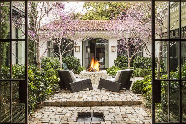 scott shrader west hollywood garden inner courtyard