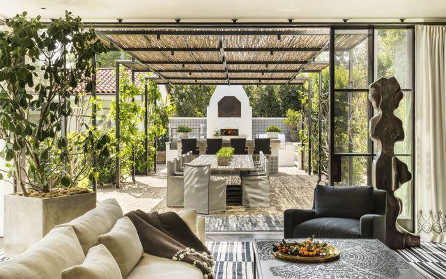 scott shrader west hollywood garden living room