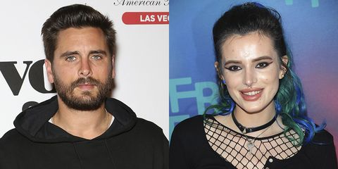 Scott Disick took Bella Thorne for a dinner date, apparently