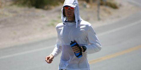 Jenny Running In Heat Scott Jurek Badwater