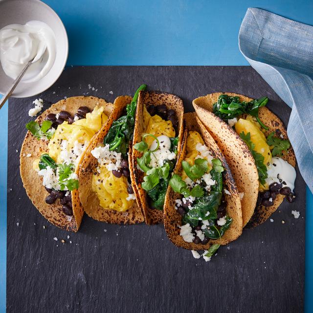 scrambled egg tacos recipe