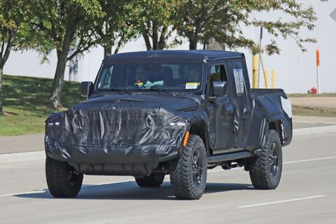 New Jeep Scrambler >> 2020 Jeep Wrangler Pickup News Photos Price Release Date What