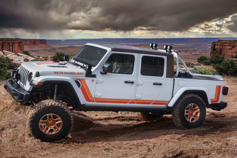 2020 Jeep Gladiator Scrambler Package