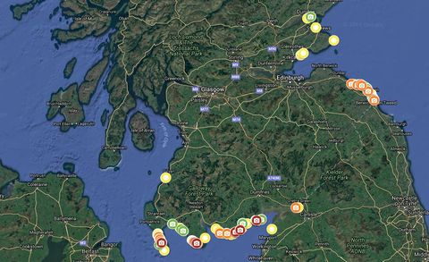 New Interactive Map Reveals Amount Of Litter Pollution On Scotland\'s ...