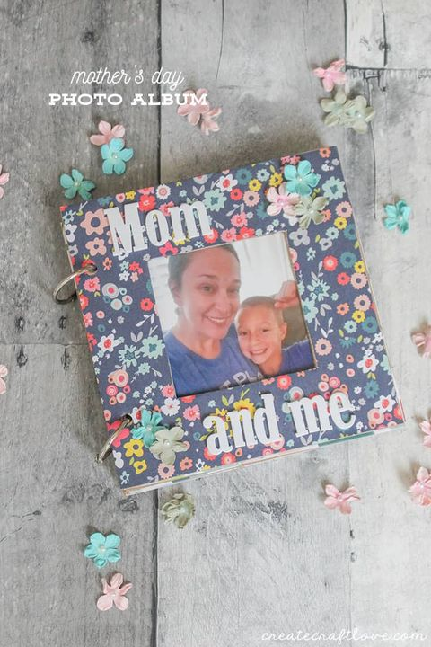 mother's day scrapbook mother's day crafts