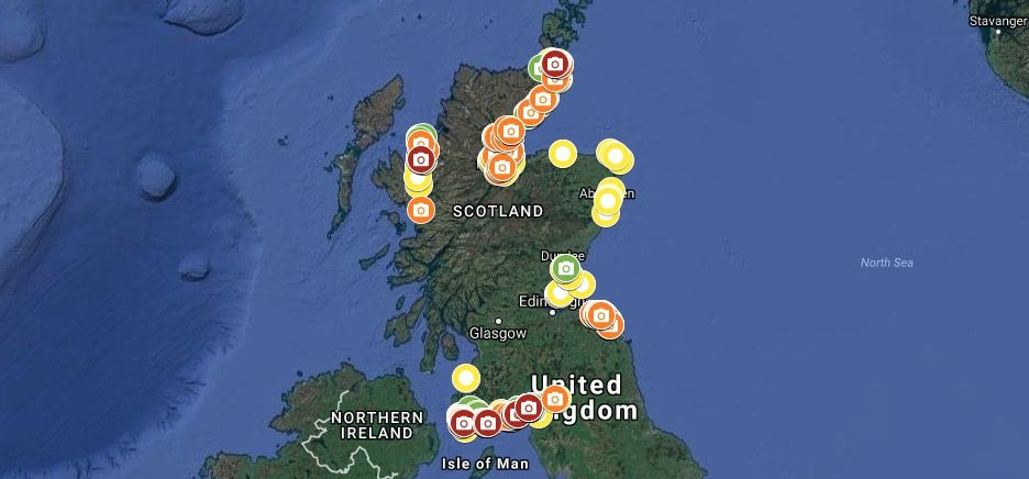 New Interactive Map Reveals Amount Of Litter Pollution On Scotlands