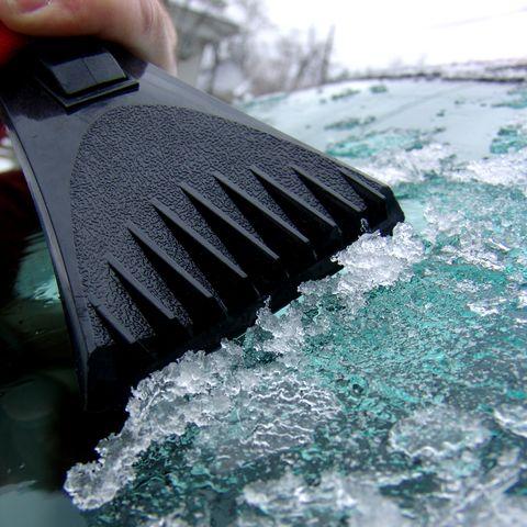 Scraping Ice