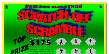 Chicago Marathon Scratch-Off Ticket 450p