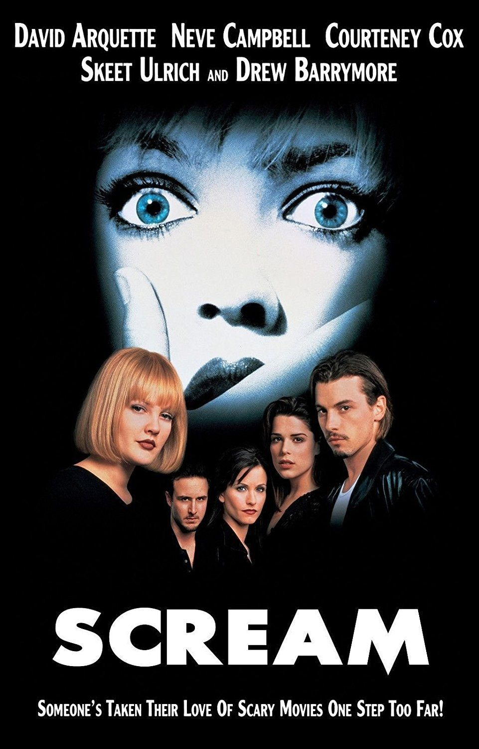 'Scream' (1996) Scream is a horror classic and, when it was released, it turned the genre on its head and went meta before going meta was such a common move.
